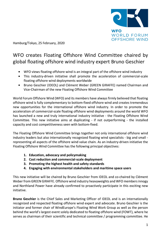 WFO – Press release 25/02/2020